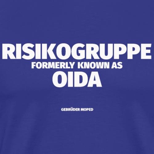 Risikogruppe Oida - Männer Premium T-Shirt