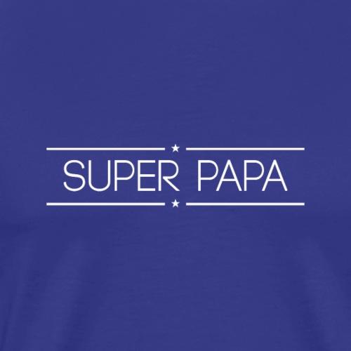 Logo Super Papa Blanc