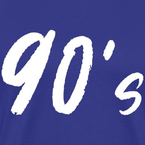 90er Party Kostüm Outfit Disko Shirt - Männer Premium T-Shirt