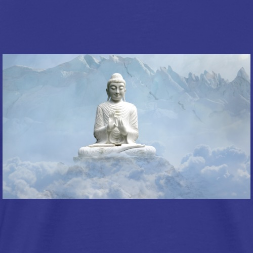 Buddha with the sky 3154857 - Men's Premium T-Shirt