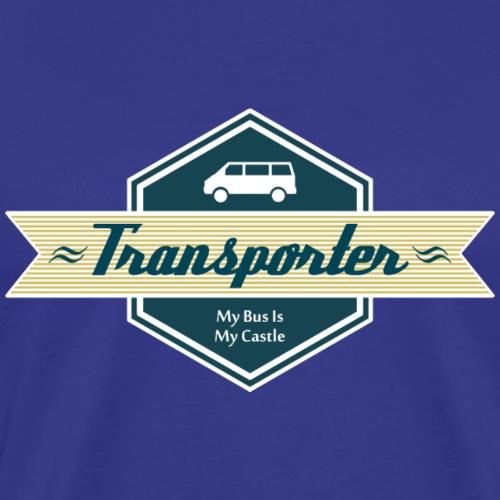 Transporter Retro - Männer Premium T-Shirt