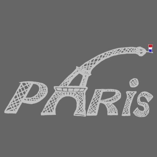 Paris gris claires - T-shirt Premium Homme