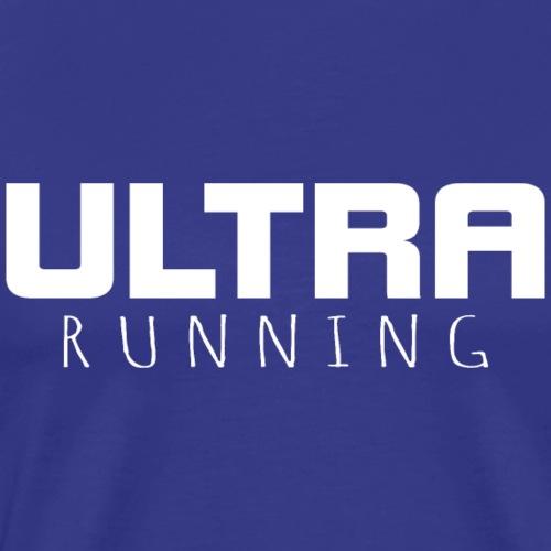 Ultra Running Marathon Ultralaufen Shirt Geschenk - Männer Premium T-Shirt