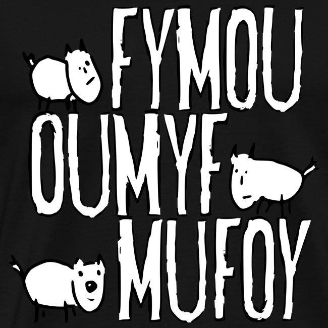 Tre venner Fymou, Oumyf og Mufoy