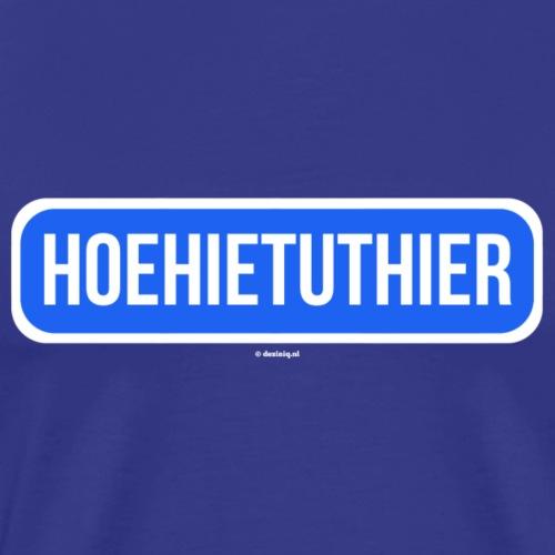 Hoehietuthier - Mannen Premium T-shirt