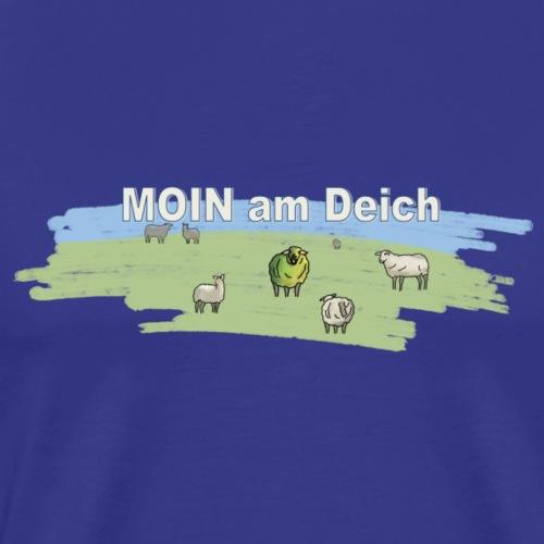 MOIN am Deich sagt das Schaf - Männer Premium T-Shirt