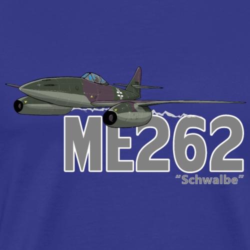 Me 262 Schwalbe (writing) - Maglietta Premium da uomo