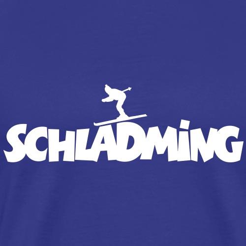 Schladming Ski (M) - Männer Premium T-Shirt