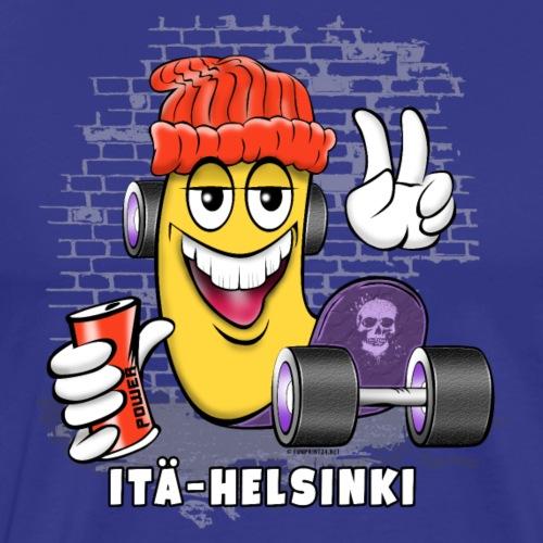 ITÄ-HELSINKI SKATE 1 - Skateboard Helsinki - Miesten premium t-paita