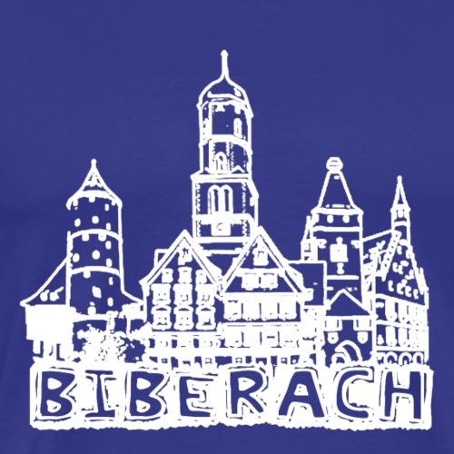 Biberach Skyline - Männer Premium T-Shirt