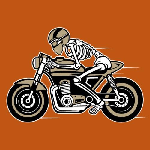 Cafe Racer Motorrad 05_dreifarbig - Männer Premium T-Shirt