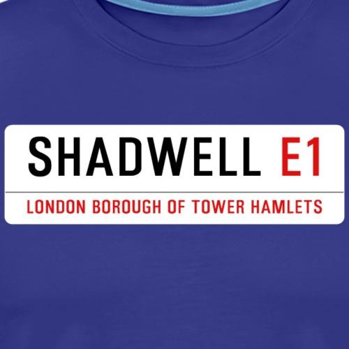 Shadwell Street Sign - Men's Premium T-Shirt