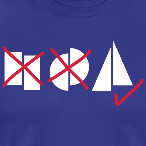 segeltoern symbole - Männer Premium T-Shirt