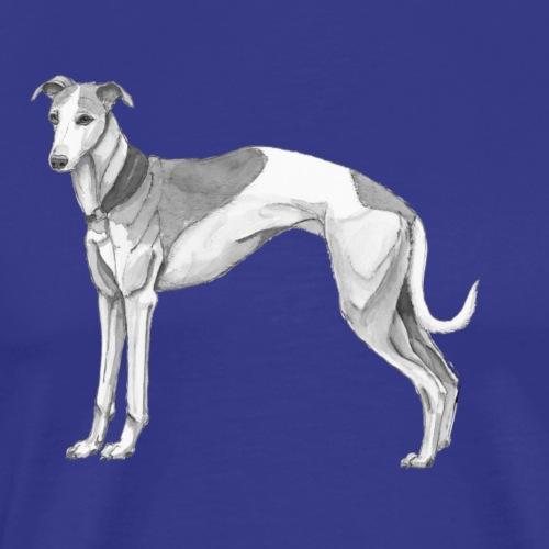 whippet - Herre premium T-shirt