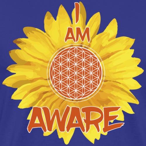 I AM AWARE - Men's Premium T-Shirt