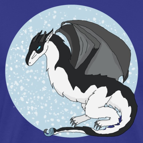 Snow Wyvern - Men's Premium T-Shirt