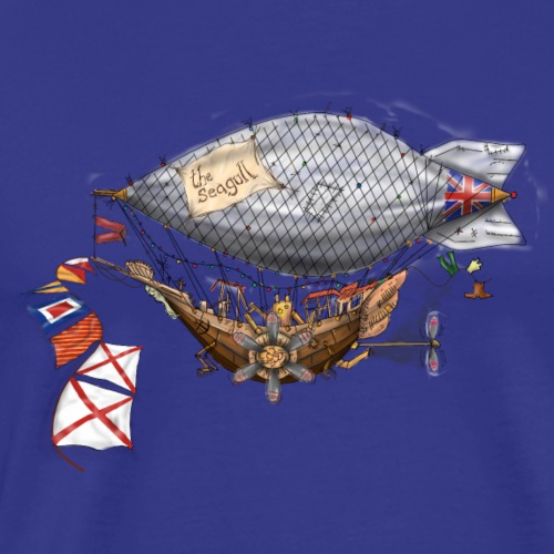 The Seagull by Jon Ball - Men's Premium T-Shirt