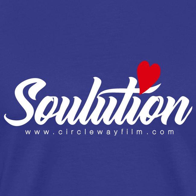 Soulution Logo – weiß