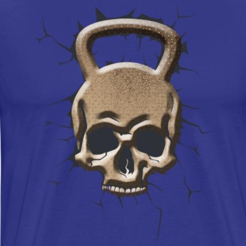 Kettlebel Crâne Masculin - T-shirt Premium Homme