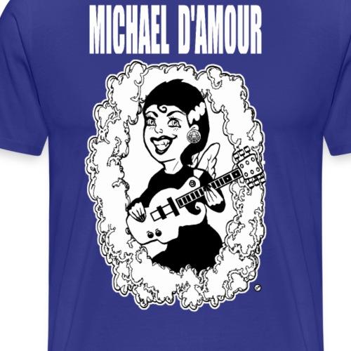 Michael D'Amour Riot grrl blanc édition limitée - T-shirt Premium Homme