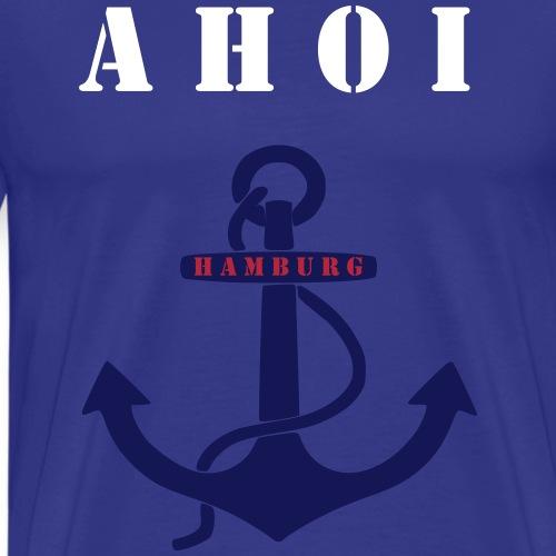 AHOI HAMBURG - Männer Premium T-Shirt