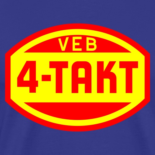 VEB 4-Takt Logo (2c) - Men's Premium T-Shirt