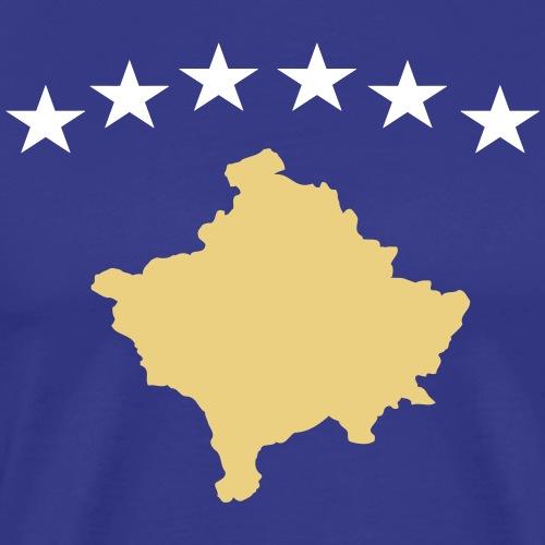 Kosovo Flagge / Kosovo Trikot 2020 - Männer Premium T-Shirt