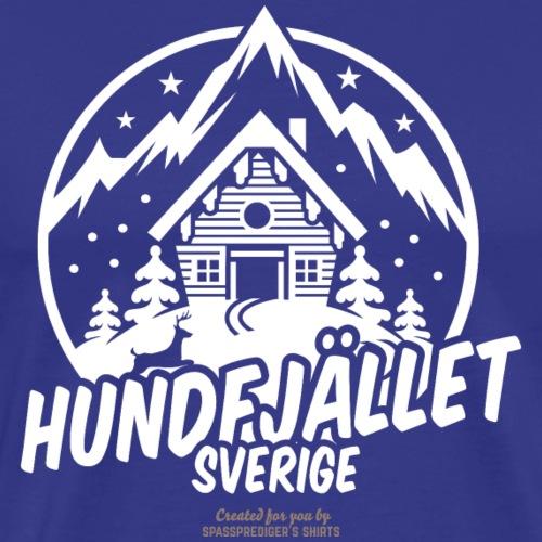 Sverige Ski Resort Sälen Hundfjället Design - Männer Premium T-Shirt
