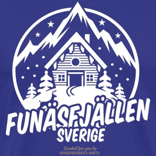 Funäsfjällen | Ski T-Shirts - Männer Premium T-Shirt