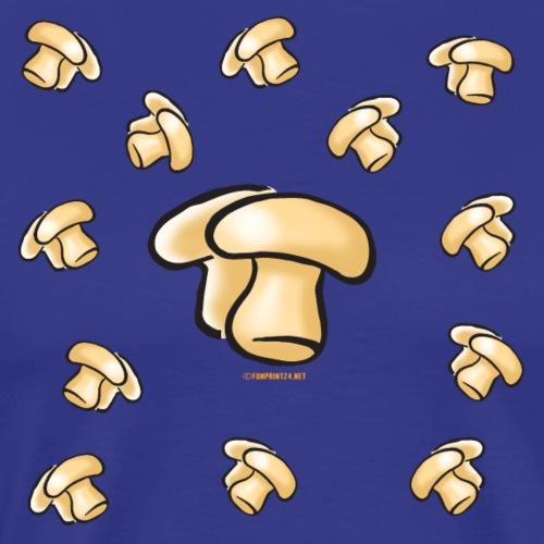 06-2 Mushroom Organic, Textiles and Gift products - Miesten premium t-paita