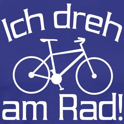 Fahrrad Spruch - Männer Premium T-Shirt