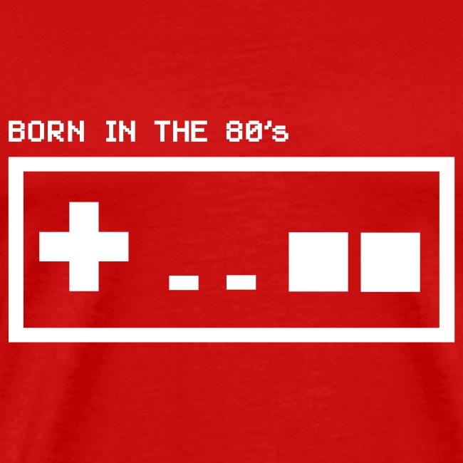 Born in the eighties - retro controller woman