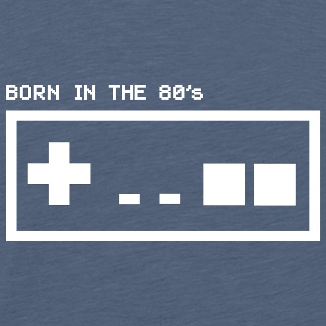Born in the eighties - retro controller woman