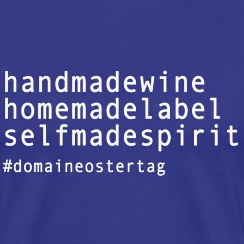 handmade wine - T-shirt Premium Homme