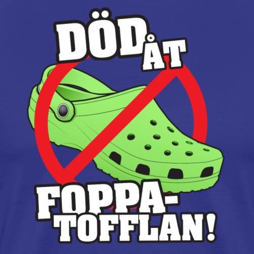 foppatofflanpng - Premium-T-shirt herr