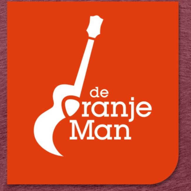 De Oranje Man Wilhelmus Hoekstra Logo Oranje Vlak