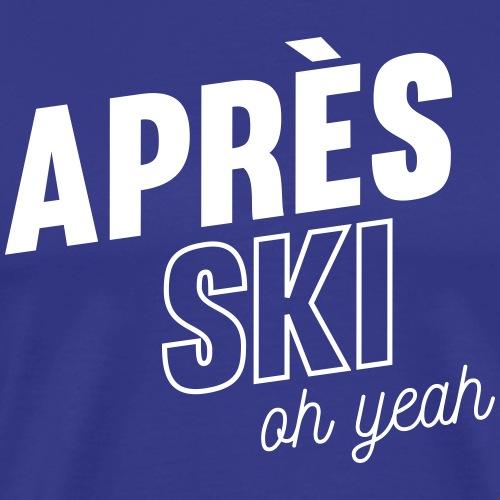 Après ski - T-shirt Premium Homme