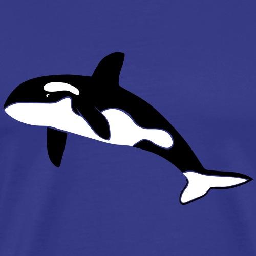 orca orka wal killer whale delfin delphin dolphin - Männer Premium T-Shirt