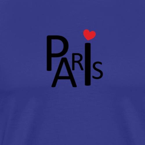 Paris strano 1 - Maglietta Premium da uomo