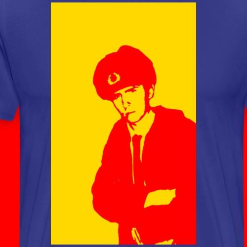 Kommissar on Patrol 4096 jpg - Men's Premium T-Shirt