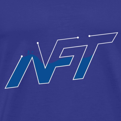 Nift Blue - Men's Premium T-Shirt