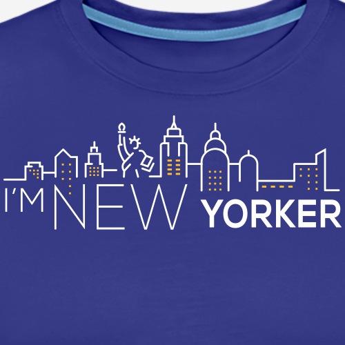 I'M NEW YORKER - Maglietta Premium da uomo