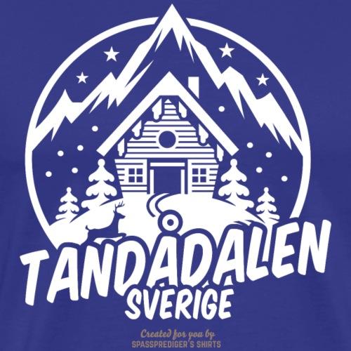 Tandadalen Sälen | Ski T-Shirts - Männer Premium T-Shirt