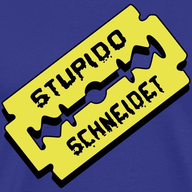 Stupido schneidet Logo