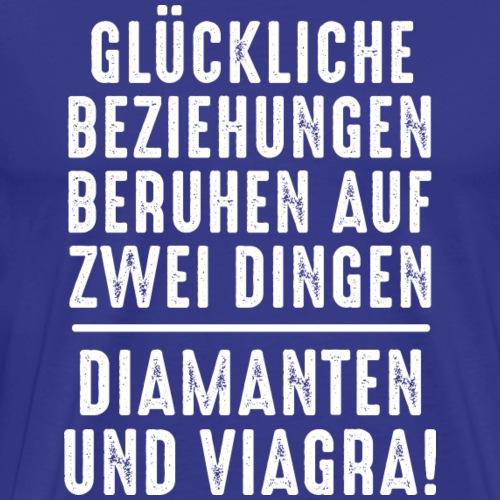 glückliche Beziehungen Diamant Viagra Juwelen - Men's Premium T-Shirt