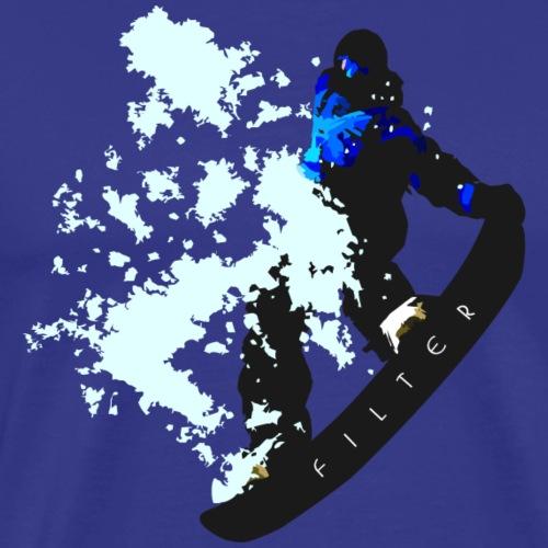 Snowboard - Maglietta Premium da uomo
