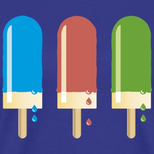 Eis am Stiel lollipop ice cream Sommer be cool - Men's Premium T-Shirt