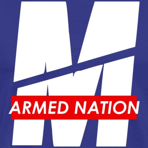 ARMED NATION - M WHITE DESIGN 2021 - Männer Premium T-Shirt