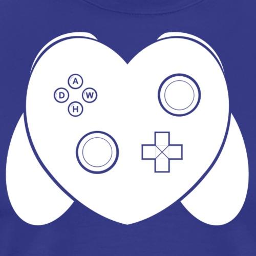 Love Of Gaming - White - Men's Premium T-Shirt