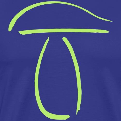 StrichpilzSteinpilz - Männer Premium T-Shirt